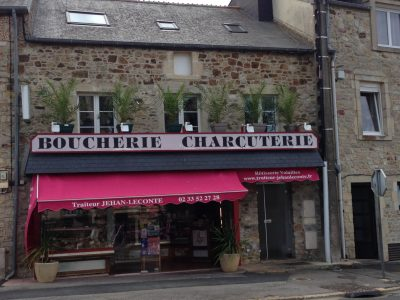 ancien magasin Jehan Leconte à Bricquebec
